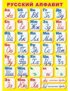 Плакат. Русский алфавит (прописной)
