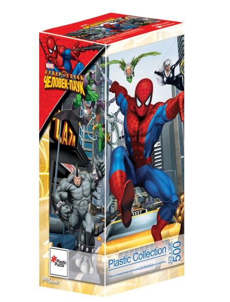 """Пластиковый пазл """"Человек-паук"""", 500 элементов"""