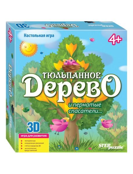 """Настольная игра 3D """"Тюльпанное дерево"""""""