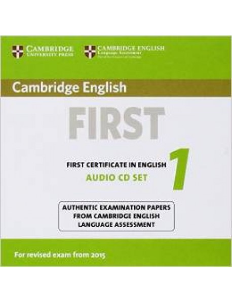 Audio CD. Cambridge English First 1 for Revised Exam from 2015 (количество CD дисков: 2)
