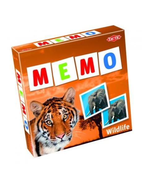 "Мемо ""Дикие животные 2"""