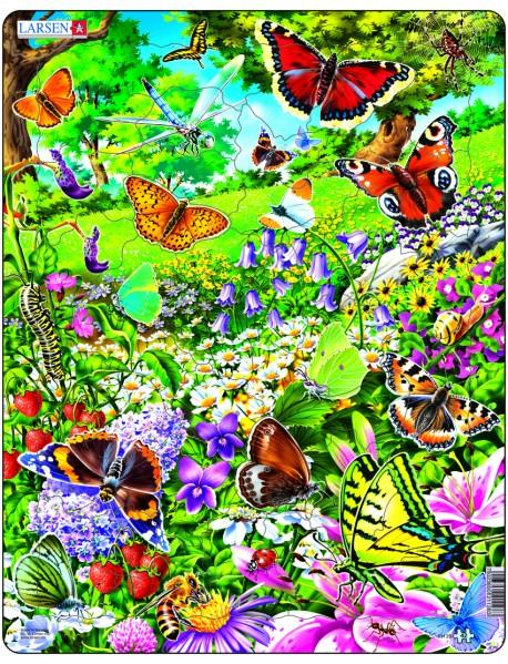 """Пазл """"Бабочки"""", 42 детали"""