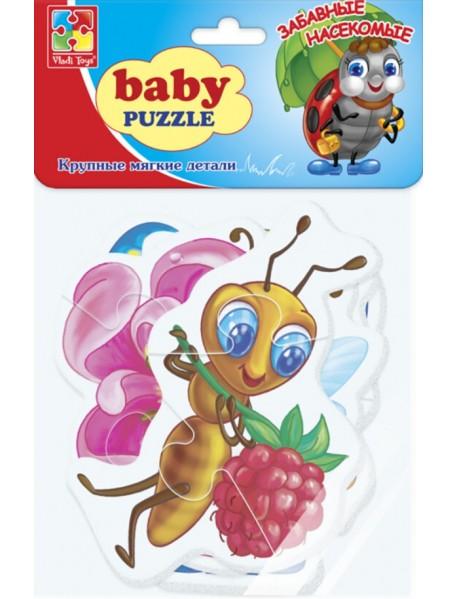 """Мягкие пазлы """"Baby puzzle. Насекомые"""""""