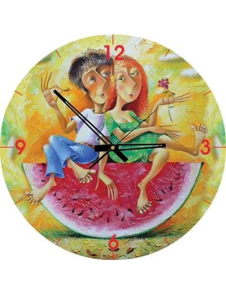 """Пазл-часы """"Сладкая парочка"""", 570 деталей"""