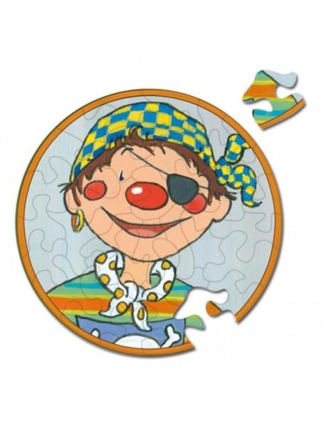 """Круглые пазлы Curiosi """"Picoli Kids"""" (диаметр 9 см)"""