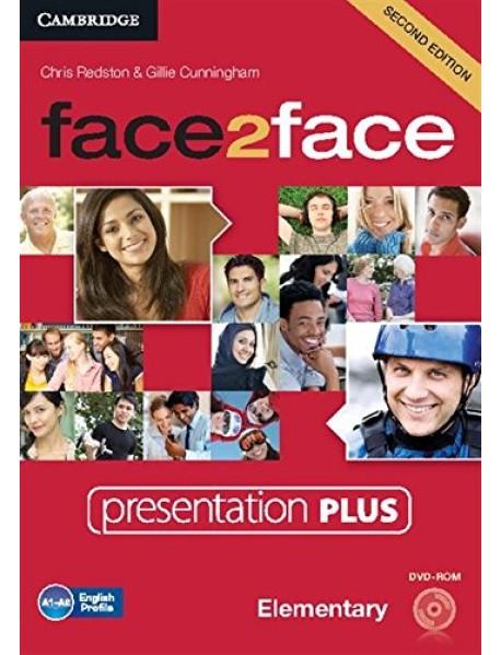 DVD. face2face Elementary Presentation Plus