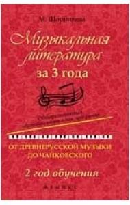 Музыкальная литература за 3 года. Общеразвивающая общеобразовательная программа: от древнерусской музыки до Чайковского. 2 год обучения