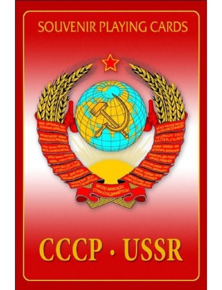 Игральные карты сувенирные. СССР