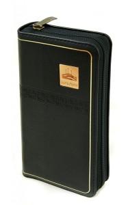 Библия. Подарочное издание (1258)047YZTI, черная на молнии