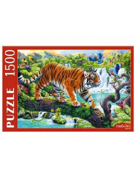 """Пазлы """"Тигр на дереве"""", 1500 элементов"""