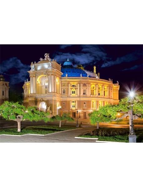 Puzzle-1500. С-150649. Оперный театр. Одесса