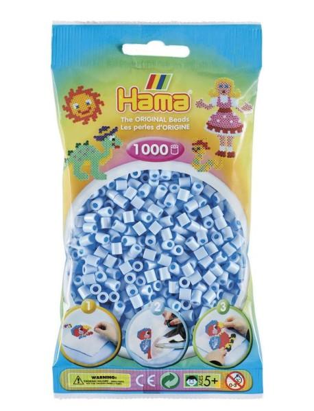 """Бусинки для термомозаики """"Midi"""", 1000 штук, цвет: небесно-голубой пастельный"""