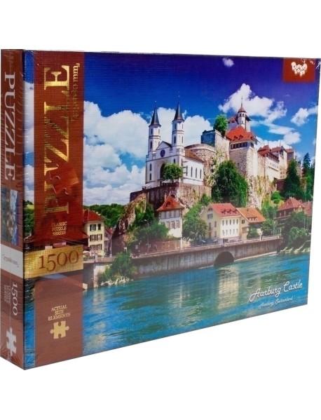 "Пазл ""Замок Арбург. Швейцария"", 1500 элементов"