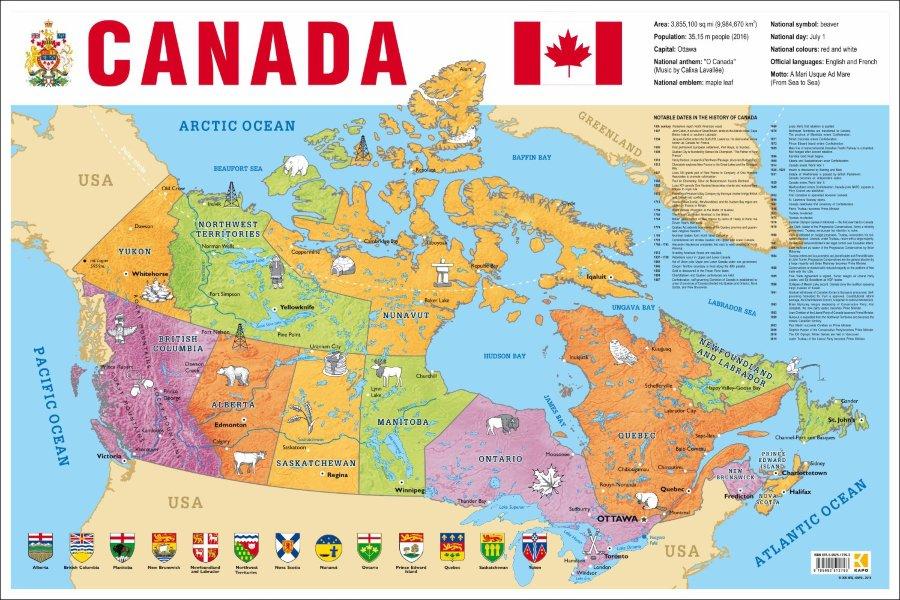 Карта канады как белорусу купить недвижимость за рубежом
